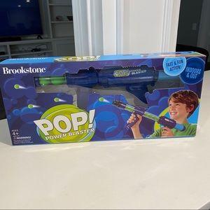 Brookstone pop power blaster. NEW
